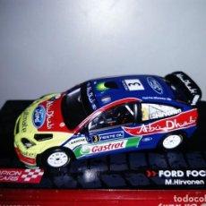 Coches a escala: COCHE FORD FOCUS WRC. CHAMPIOR RALLY CARS. ESCALA 1/43. Lote 109487379