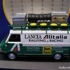 Coches a escala: FURGONETA FIAT 242 ASISTENCIA AL ITALIA, REGALO DE SUSCRIPCION DE ALTAYA, 1/43. Lote 109539823