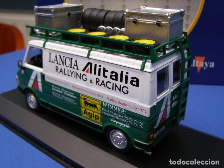 Coches a escala: FURGONETA FIAT 242 ASISTENCIA AL ITALIA, REGALO DE SUSCRIPCION DE ALTAYA, 1/43 - Foto 3 - 165545198