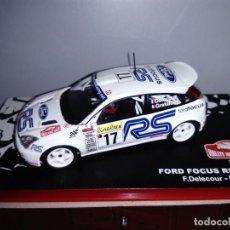 Model Cars - COCHE FORD FOCUS RS WRC01. RALLYE MONTE CARLO. ESCALA 1/43. REF 7 - 109571759