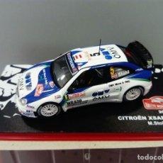 Coches a escala: COCHE CITROËN XSARA WRC. RALLYE MONTE CARLO. ESCALA 1/43. REF 11. Lote 220883061