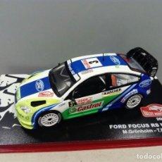 Coches a escala: COCHE FORD FOCUS RS WRC 06. RALLYE MONTE CARLO. ESCALA 1/43. REF 44. Lote 109861679