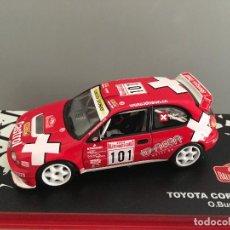 Coches a escala: COCHE TOYOTA COROLLA WRC. RALLYE MONTE CARLO. ESCALA 1/43. REF 49. Lote 290365028