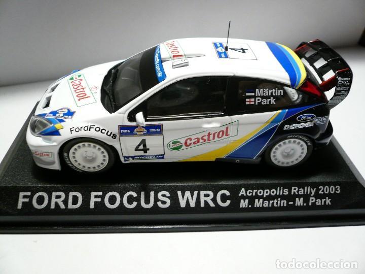 ford focus wrc acropolis rally 2003