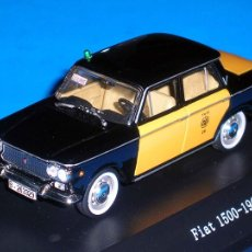 Coches a escala - Fiat 1500 Taxi Barcelona, metal esc. 1/43, Kit Car 43, base Starline. Impecable - 110930382