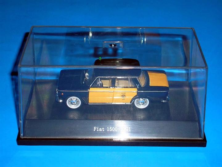 Coches a escala: Fiat 1500 Taxi Barcelona, metal esc. 1/43, Kit Car 43, base Starline. Impecable - Foto 2 - 110930382
