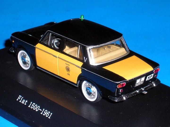 Coches a escala: Fiat 1500 Taxi Barcelona, metal esc. 1/43, Kit Car 43, base Starline. Impecable - Foto 4 - 110930382