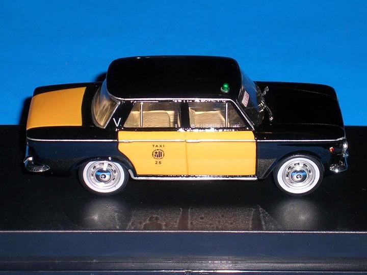 Coches a escala: Fiat 1500 Taxi Barcelona, metal esc. 1/43, Kit Car 43, base Starline. Impecable - Foto 6 - 110930382