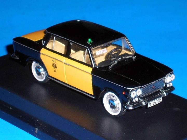 Coches a escala: Fiat 1500 Taxi Barcelona, metal esc. 1/43, Kit Car 43, base Starline. Impecable - Foto 7 - 110930382