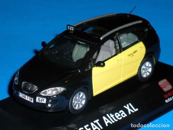 Coches a escala: Seat Altea XL Taxi Barcelona, metal esc. 1/43, Kit Car 43, base J-Collection Seat Auto Emoción. - Foto 4 - 110932631