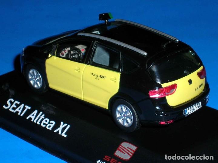 Coches a escala: Seat Altea XL Taxi Barcelona, metal esc. 1/43, Kit Car 43, base J-Collection Seat Auto Emoción. - Foto 5 - 110932631