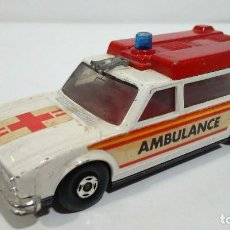 Coches a escala: MATCHBOX AMBULANCE K-49 SPEED KINGS DE 1974. Lote 112164731