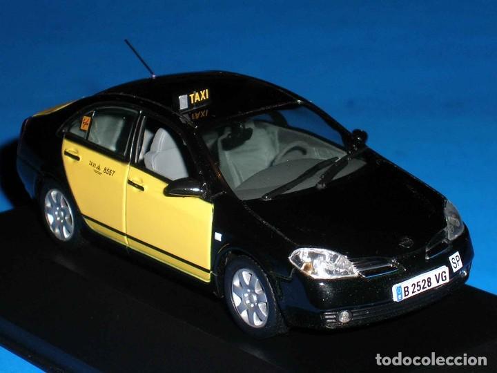 Coches a escala: Nissan Primera Taxi Barcelona, metal esc. 1/43, J-Collection. Impecable - Foto 3 - 112902299