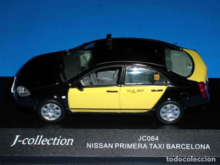 Coches a escala: Nissan Primera Taxi Barcelona, metal esc. 1/43, J-Collection. Impecable - Foto 4 - 112902299