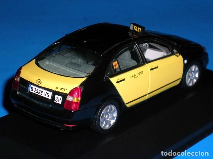Coches a escala: Nissan Primera Taxi Barcelona, metal esc. 1/43, J-Collection. Impecable - Foto 5 - 112902299