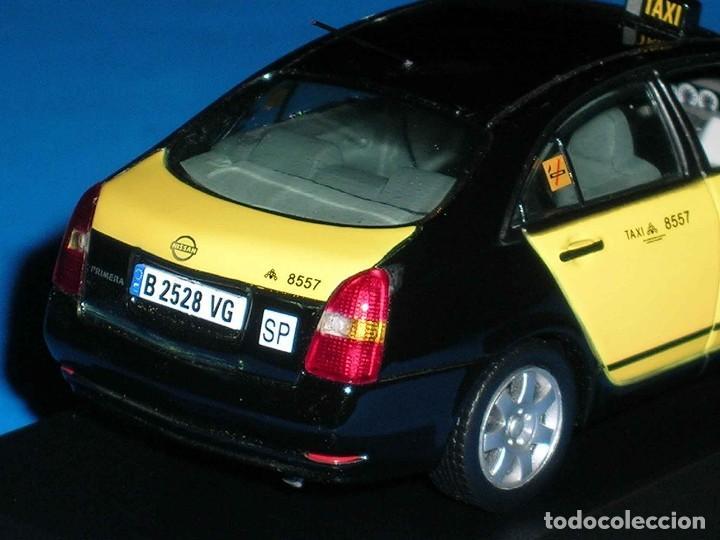 Coches a escala: Nissan Primera Taxi Barcelona, metal esc. 1/43, J-Collection. Impecable - Foto 6 - 112902299