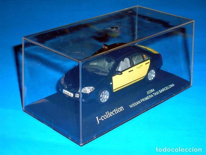 Coches a escala: Nissan Primera Taxi Barcelona, metal esc. 1/43, J-Collection. Impecable - Foto 7 - 112902299