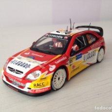 Coches a escala: VITESSE 1:43 CITROEN XSARA WRC SORDO/MARTÍ MONTE CARLO ´06 - Nº 35. Lote 113067000
