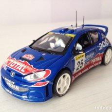 Coches a escala: VITESSE 1:43 PEUGEOT 206 WRC ROVANPERA/PIETILAINEN RALLY MONTE CARLO ´02 - Nº 657. Lote 113067747