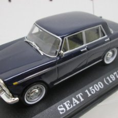Coches a escala: COCHE SEAT 1500 (1971) ALTAYA IXO 1/43. Lote 113336476