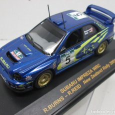 Coches a escala: SUBARU IMPREZA WRC,BURNS-REID,NEW ZEALAND RALLYE 2001,RALLY CAR COLLECTION PLANETA DEAGOSTINI 1/43. Lote 113338679