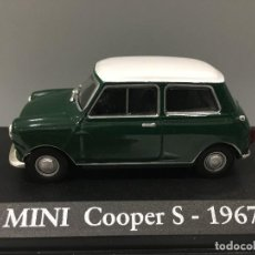 Coches a escala: COCHE MINI COOPER S- 1967. ESCALA 1/43. Lote 134740599