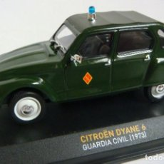 Coches a escala: COCHE CITROEN DYANE 6 GUARDIA CIVIL AÑO 1973 ESCALA 1'43 (#). Lote 222162827