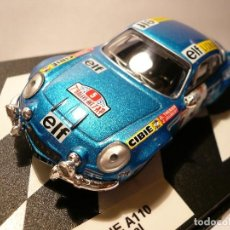 Coches a escala: RENAULT ALPINE A110 RALLY PORTUGAL 1973. Lote 114577443