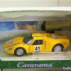 Coches a escala: PORSCHE 904 GTS #41 AMARILLO - CARARAMA HONGWELL – ESCALA 1/43 – NUEVO EN SU CAJA. Lote 115441094