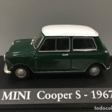 Coches a escala: COCHE MINI COOPER S- 1967. ESCALA 1/43. Lote 114646887