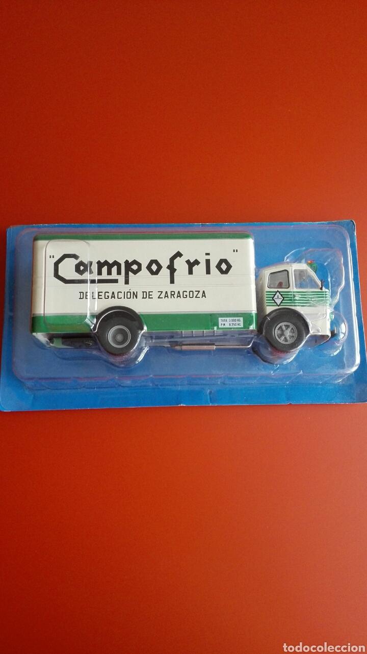 PEGASO 1060 CABEZÓN DE CAMPOFRÍO (1964), TEST SALVAT, 1/43 (Juguetes - Coches a Escala 1:43 Otras Marcas)
