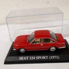 Coches a escala: COCHE SEAT 124 SPORT ROJO 1971 IXO ALTAYA EN CAJA. Lote 114766486