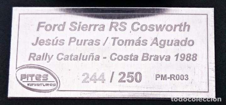 Rallye Costa Brava 1988 1:43 Ford Sierra RS Cosworth Jesus Puras PM-R 003
