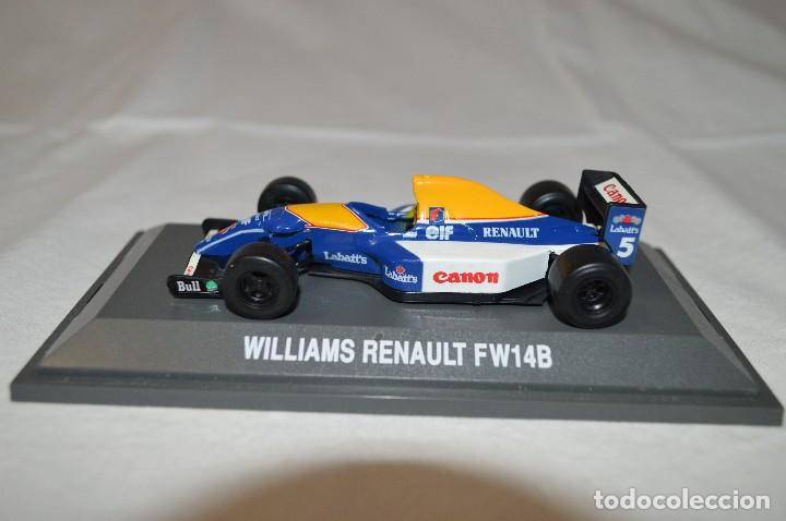 Coches a escala: Williams Renault FW14B. Formula 1 colletion. 1/43. Kyosho. romanjuguetesymas. - Foto 1 - 115677083