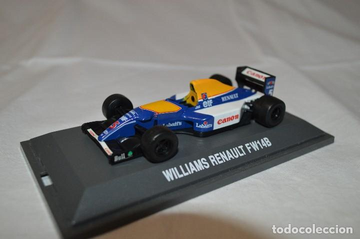 Coches a escala: Williams Renault FW14B. Formula 1 colletion. 1/43. Kyosho. romanjuguetesymas. - Foto 2 - 115677083
