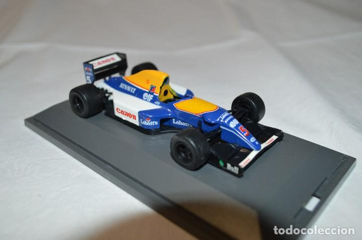 Coches a escala: Williams Renault FW14B. Formula 1 colletion. 1/43. Kyosho. romanjuguetesymas. - Foto 3 - 115677083