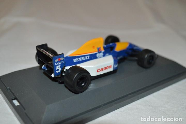 Coches a escala: Williams Renault FW14B. Formula 1 colletion. 1/43. Kyosho. romanjuguetesymas. - Foto 4 - 115677083
