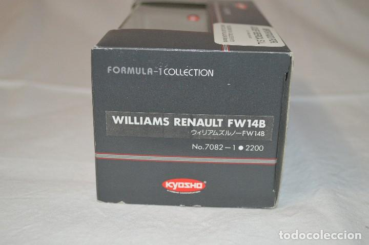 Coches a escala: Williams Renault FW14B. Formula 1 colletion. 1/43. Kyosho. romanjuguetesymas. - Foto 8 - 115677083