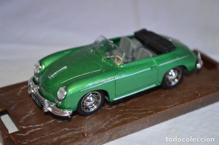Coches a escala: Porsche 356 roadster. 1950. Serie Oro. 1/43. Brumm. Fabricado en Italia. romanjuguetesymas. - Foto 4 - 116549083