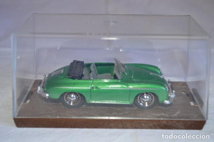 Coches a escala: Porsche 356 roadster. 1950. Serie Oro. 1/43. Brumm. Fabricado en Italia. romanjuguetesymas. - Foto 6 - 116549083