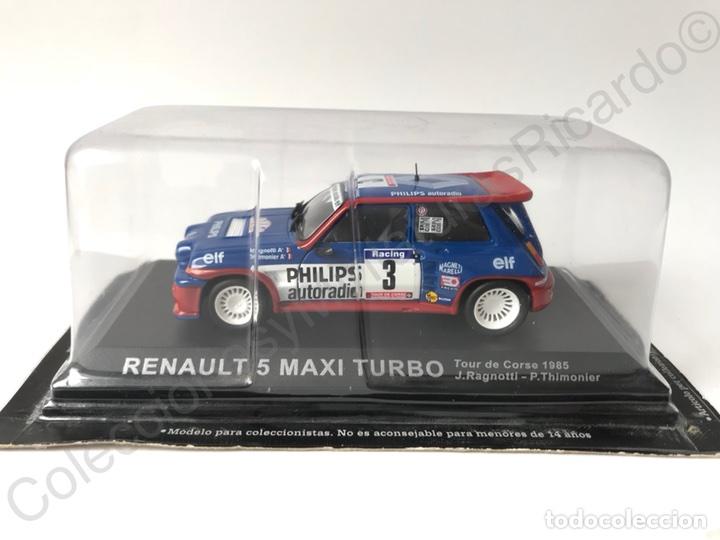 Coches a escala: Renault 5 Maxi Turbo (Tour de Corse) Ragnotti 1:43 Rally France - Foto 6 - 143623553