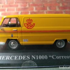 Auto in scala: MERCEDES N1000 CORREOS NUEVO EN SU VITRINA, IXO, 1/43 NUEVO. Lote 199510918