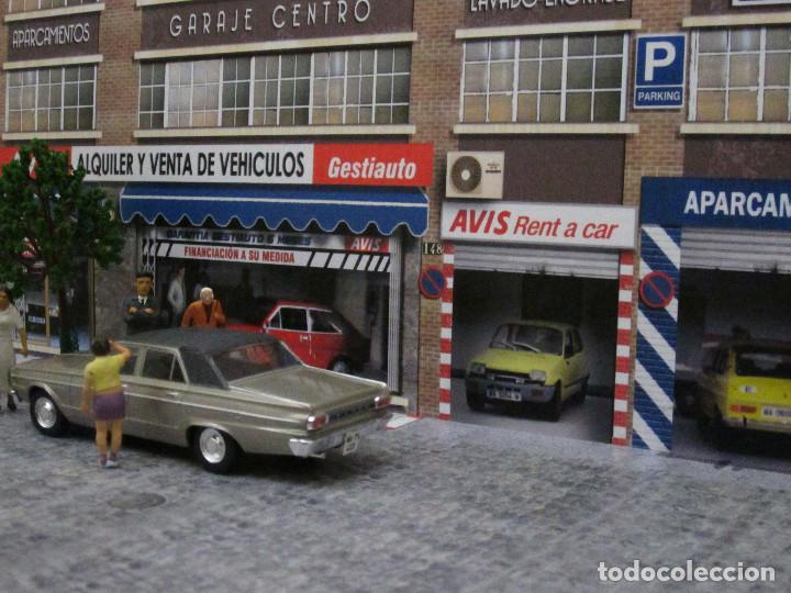 Coches a escala: Diorama 1/43 AVIS, (módulo en calle 8) - Foto 5 - 117930967