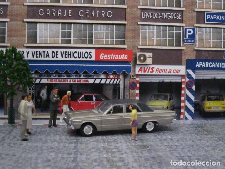 Coches a escala: Diorama 1/43 AVIS, (módulo en calle 8) - Foto 2 - 117930967