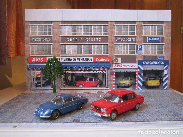 Coches a escala: Diorama 1/43 AVIS, (módulo en calle 8) - Foto 6 - 117930967