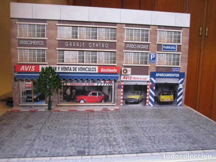 Coches a escala: Diorama 1/43 AVIS, (módulo en calle 8) - Foto 7 - 117930967
