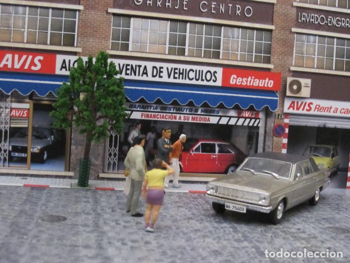 Coches a escala: Diorama 1/43 AVIS, (módulo en calle 8) - Foto 8 - 117930967