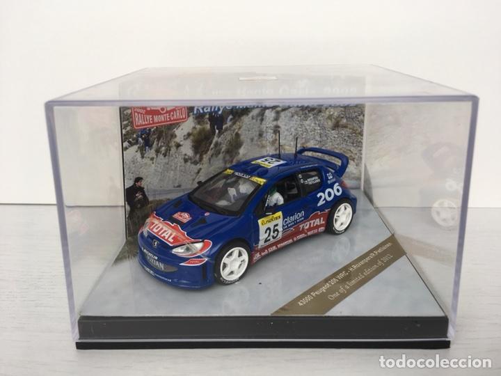 Coches a escala: VITESSE 1:43 PEUGEOT 206 WRC Rovanpera/Pietilainen Rally Monte Carlo ´02 - Nº 657 - Foto 2 - 113067747