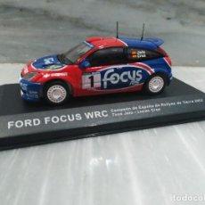 Coches a escala: COCHE FORD FOCUS WRC CAMPEONATO DE ESPAÑA RALLYE TIERRA 2002 TXUS JAIO - LUCAS CRUZ. Lote 118087655
