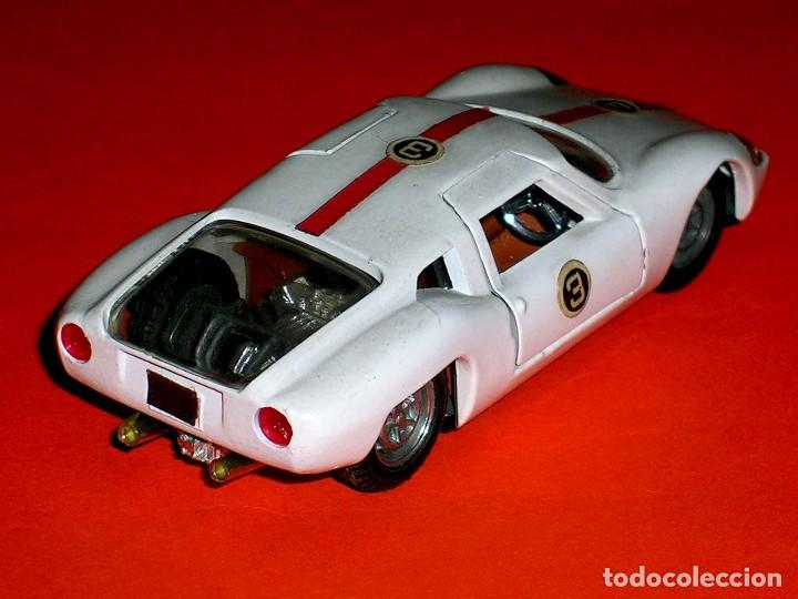 Coches a escala: Ford Lola GT ref. 534, metal, esc. 1/43, Politoys made in Italy, original años 60. - Foto 1 - 118259667